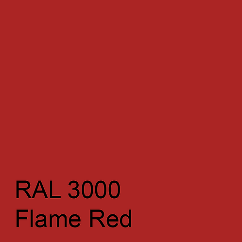 RAL 3000 - Flame Red