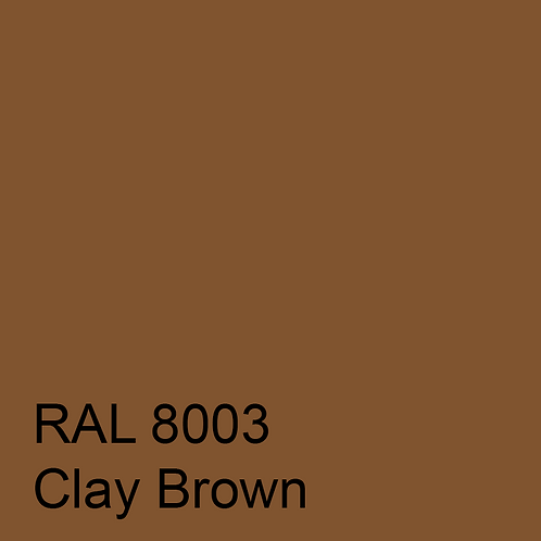 RAL 8003 - Clay Brown