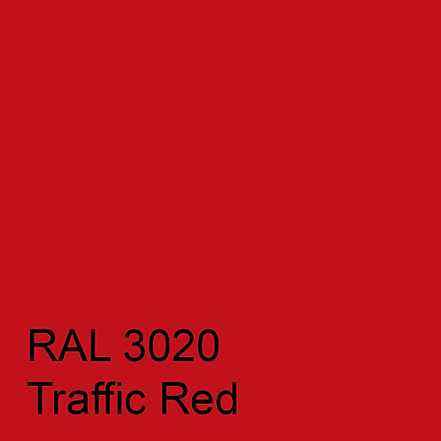 RAL 3020 - Traffic Red