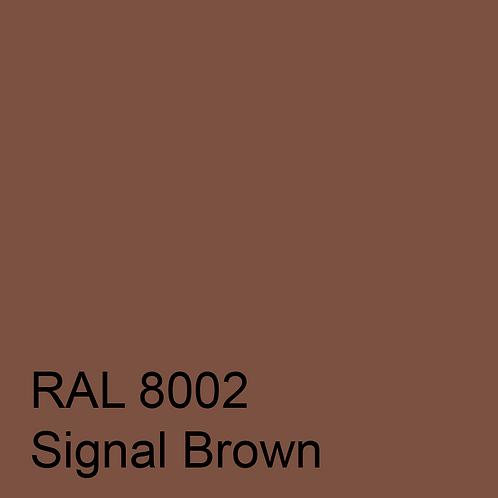 RAL 8002 - Signal Brown