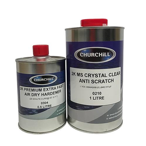 Churchill - 1.5L 2K MS Crystal Clear Anti-Scratch
