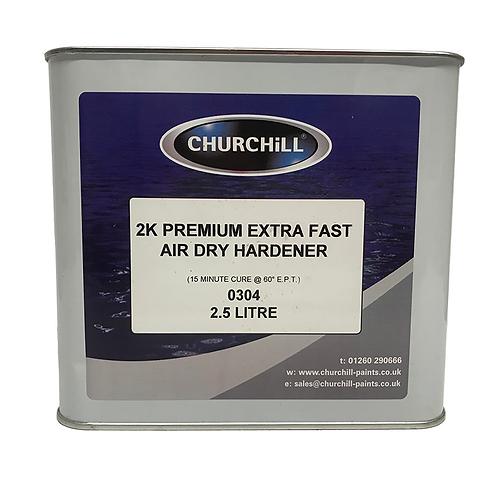 2K Premium Extra Fast Air Dry Hardener - 2.5L