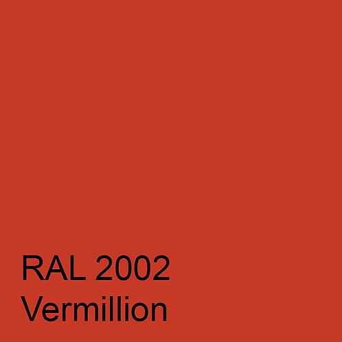 RAL 2002 - Vermillion