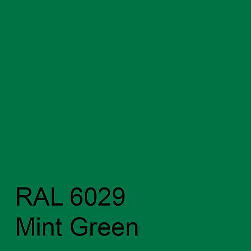 RAL 6029 - Mint Green