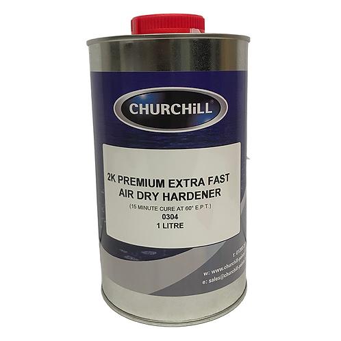2K Premium Extra Fast Air Dry Hardener - 1.0L