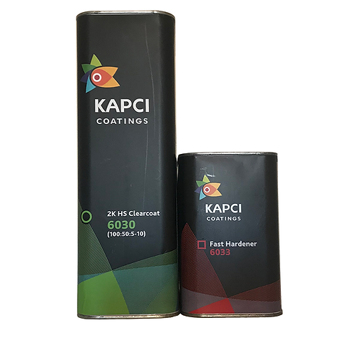 Kapci - 6030 2K HS Anti-Scratch Clearcoat 7.5L