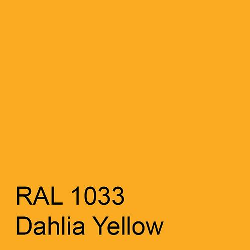 RAL 1033 - Dahlia Yellow