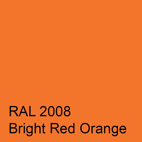 RAL 2008 - Bright Red Orange