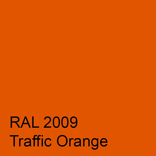RAL 2009 - Traffic Orange