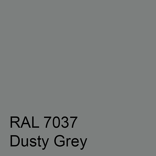 RAL 7037 - Dusty Grey