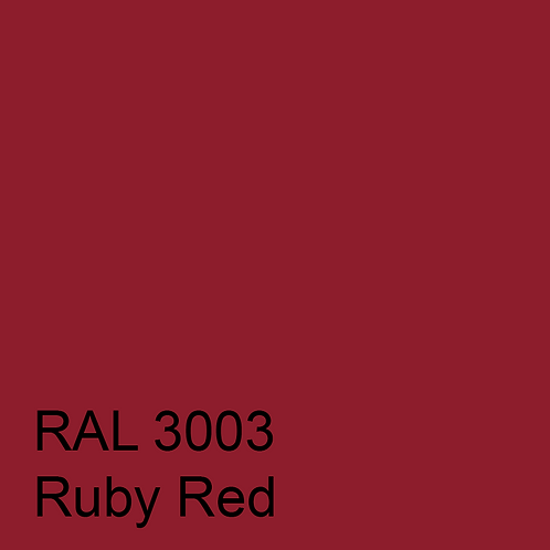 RAL 3003 - Ruby Red