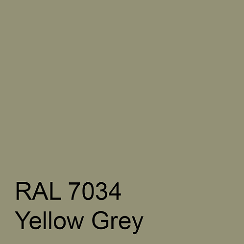 RAL 7034 - Yellow Grey