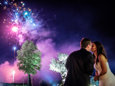 5 Things to consider if you want wedding fireworks!