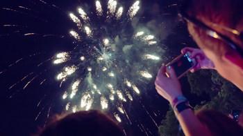 Stunning Wedding Fireworks