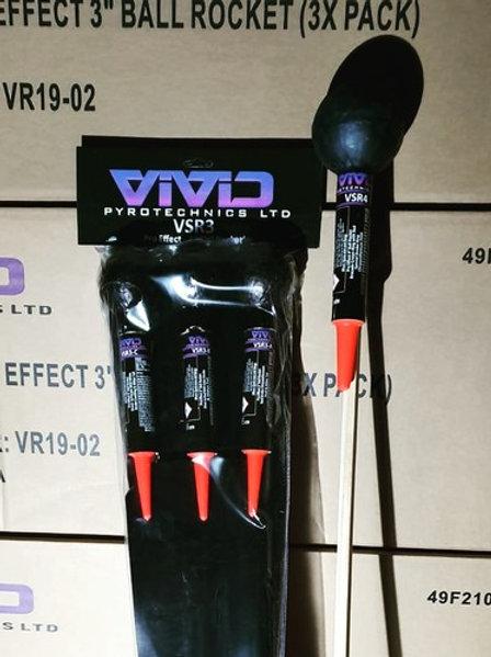 VSR3 Shell Rockets x 3