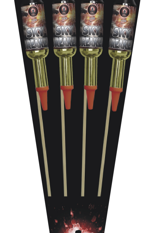 Sky Breaker MEGA Rockets