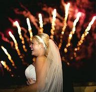 Musical Wedding Fireworks