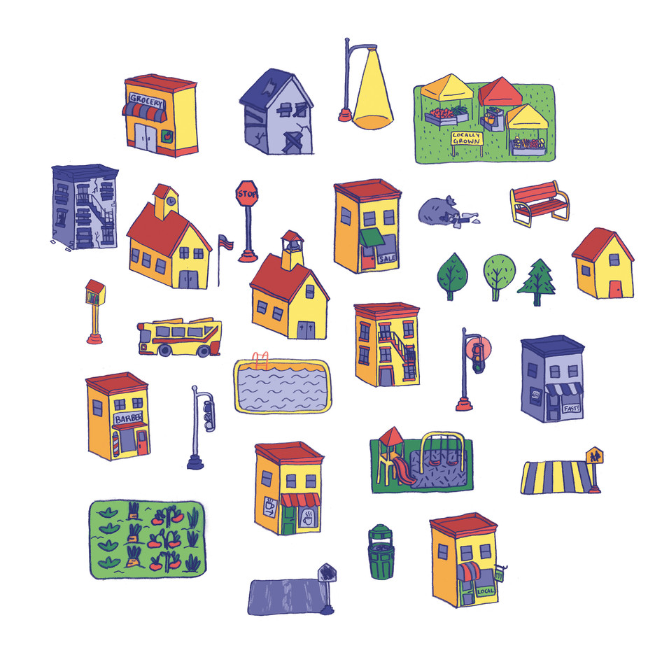 Community Development Game - Icon Concepts