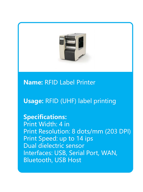 RFID Label Printer