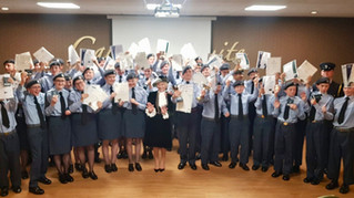 HIGH PRAISE FOR LONGBENTON AIR CADETS!