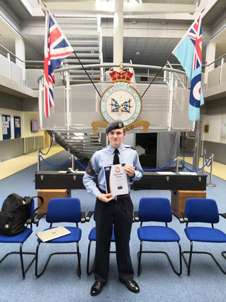 MIRFIELD AIR CADET BECOMES A CYBER SPECIALIST