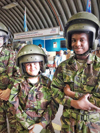 OVER A THOUSAND CADETS TAKE PART IN MUSTER TO CELEBRATE RAF100