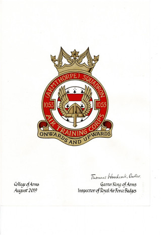 NEW CREST FOR ARMTHORPE SQUADRON