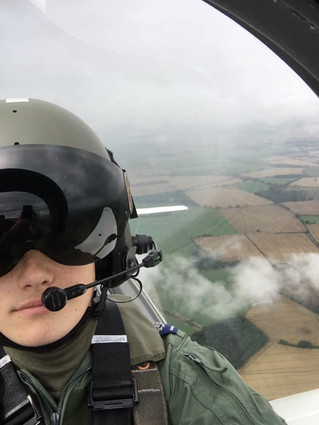 CHESTER-LE-STREET CADET IS FLYING HIGH