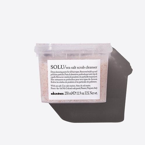 Davines Essential Hair Care SOLU Sea Salt Scrub Cleanser (Shampoo) 海鹽磨砂洗頭水