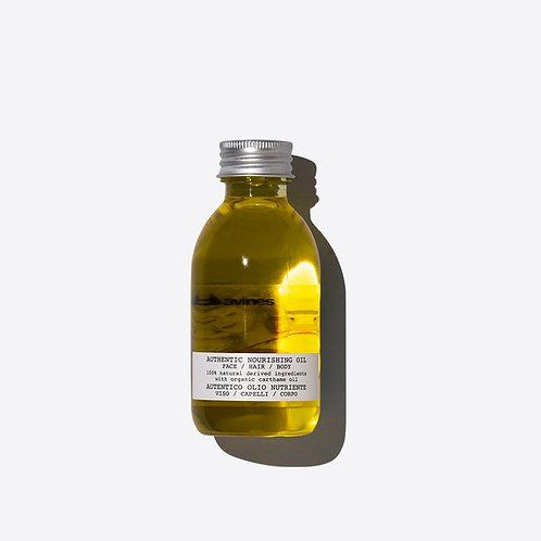 Davines Authentic Nourishing Oil | Davines(達芬尼斯)埃及紅花全能系列 - 髮尾油/潤膚油