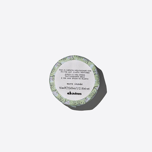 Davines More Inside Medium Hold Finishing Gum | Davines(達芬尼斯) 中強定型髮蠟