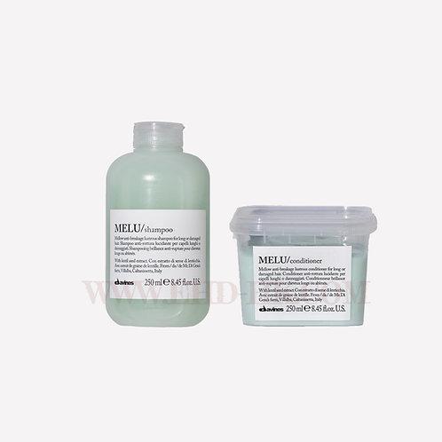 Davines Essential Hair Care Set - MELU Shampoo & Conditioner | Davines (達芬妮斯) Essential Hair Care 套裝 - 無重防斷洗護套裝