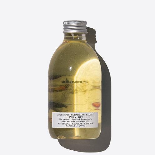 Davines Authentic Cleansing Nectarl | Davines(達芬尼斯)埃及紅花全能系列 - 洗頭水/沐浴露