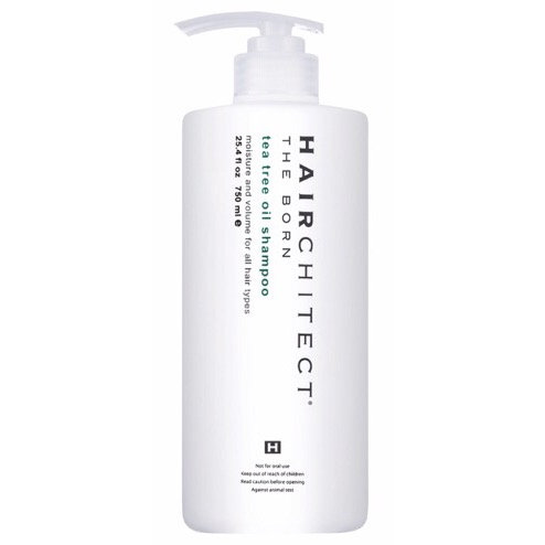 Hairchitect Tea Tree Oil Shampoo 750ml | Hairchitect 茶樹油洗頭水