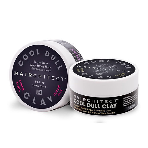 Hairchitect Color Clay Silver / Plum(Purple) 80g