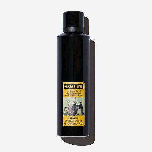 Davines PASTA & LOVE Softening Shaving Gel 200ml   Davines(達芬尼斯) PASTA & LOVE 剃鬚啫喱泡沫 200ml