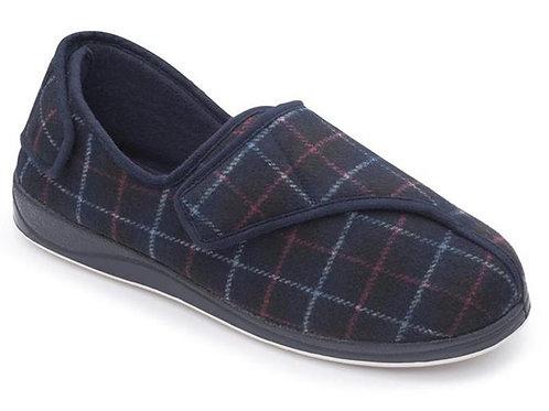 Padders mens microsuede adjustable slipper