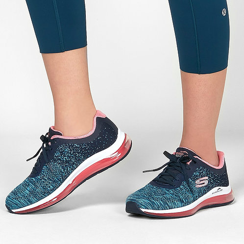 Skechers dance talk Navy hot pink