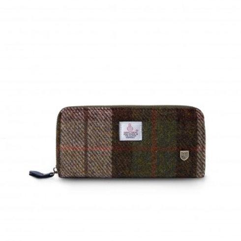 Harris Tweed Chestnutlong purse