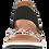 Thumbnail: Caprice leopard flower sandal