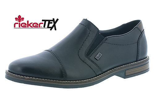 Rieker mens black slipon waterproof TEX