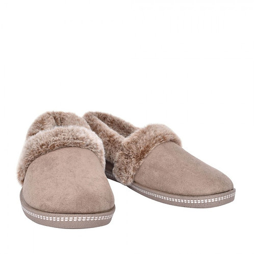 Skechers Cozy Campfire slippers Taupe