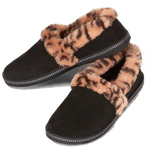 Skechers Cosy Campfire Slippers Black