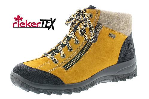 Rieker waterproof yellow boot