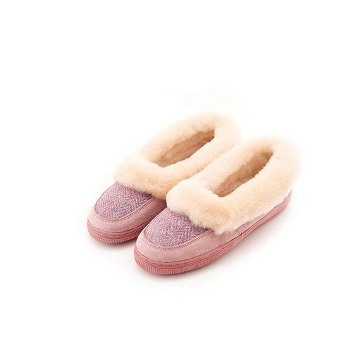 Snowpaw Harris Tweed and Sheepskin Slippers