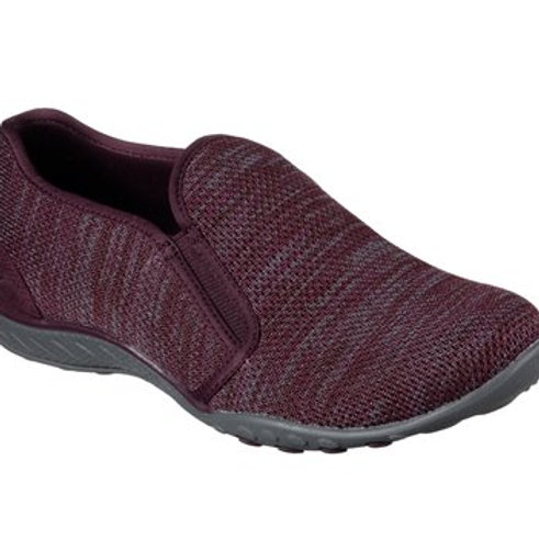 Skechers relaxed fit breathe easy burgundy