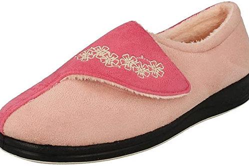 Padders Hug Slippers Pink