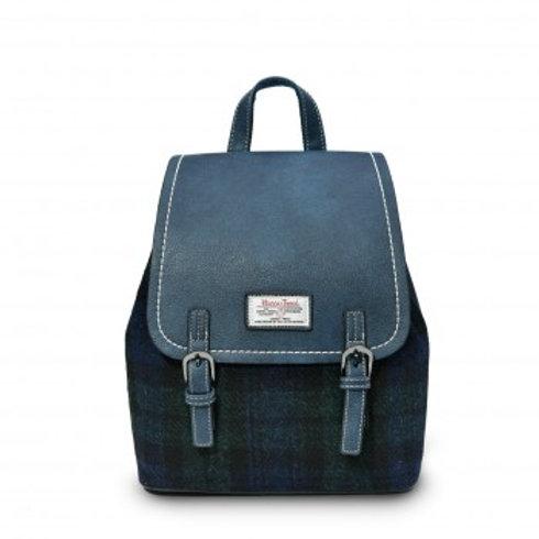 Harris Tweed Black Watch Tartan Backpack