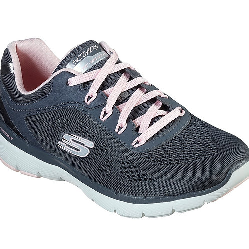 Skechers moving fast Grey Pink