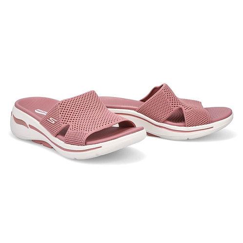 Skechers Arch fit Ladies Pink Slip-on